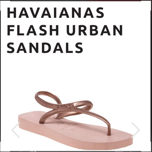 66b1e707bf3aac Havaianas Shoes - NWOT Havaianas Flash Urban flip flop in Gold